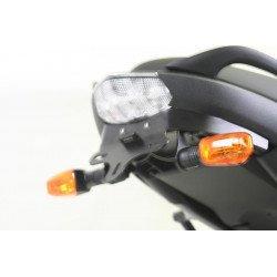 Support de plaque R&G RACING noir Kawasaki Versys 650