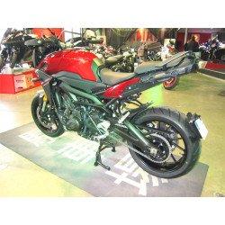 """Support de plaque ACCESS DESIGN """"ras de roue"""" noir Yamaha MT-09"""