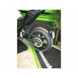 """Support de plaque ACCESS DESIGN """"ras de roue"""" noir Kawasaki Z800"""