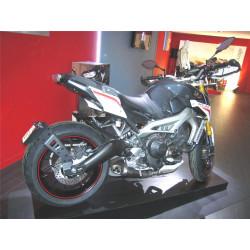 """Support de plaque ACCESS DESIGN """"ras de roue"""" noir Yamaha MT-09 Tracer"""