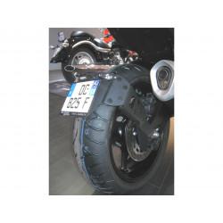 "Support de plaque ACCESS DESIGN ""ras de roue"" noir Yamaha FZ1/FZ8"