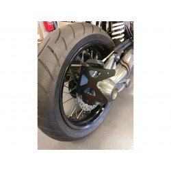 """Support de plaque ACCESS DESIGN """"ras de roue"""" noir BMW R Nine T1200"""