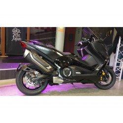 """Support de plaque ACCESS DESIGN """"ras de roue"""" noir Yamaha T-Max 530"""