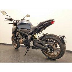 "Support de plaque ACCESS DESIGN ""ras de roue"" noir Honda CB650R"