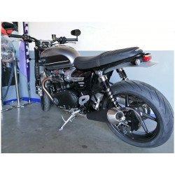 Support de plaque ACCESS DESIGN latéral noir Triumph Bonneville Speed Twin/Bobber