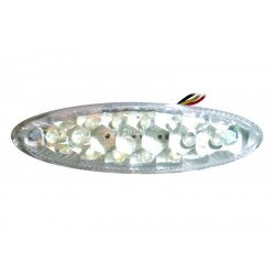 Feu arrière avec éclairage de plaque V PARTS LED universel