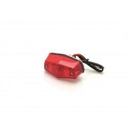 Feux arrière homologué Bihr Mini-Lucas chromé P21 - 5W/12V