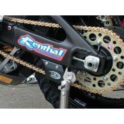 Protège couronne (dent de requin) R&G RACING ABS look carbone