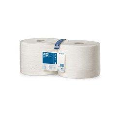 Bobine d'essuyage TORK 2 X 1000 feuilles blanc