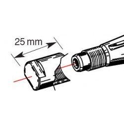Embout de protection de vilebrequin BUZZETTI M14x1,25/L25mm pour arrache-volant