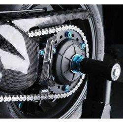 Carter de couronne LIGHTECH carbone brillant Honda Cb1000R