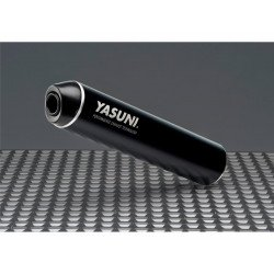 Echappement YASUNI R2 acier / silencieux aluminium Max Black