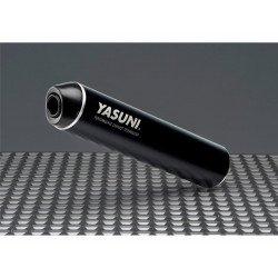 Echappement YASUNI Cross ML acier / silencieux aluminium Max Black