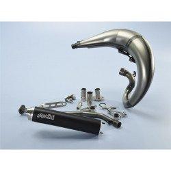 Pot de détente POLINI For Race acier/silencieux aluminium anodisé noir