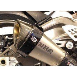 Protection de silencieux R&G RACING noir Akrapovic hexagonal