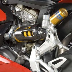 Protection d'amortisseur R&G RACING carbone Ducati Panigale