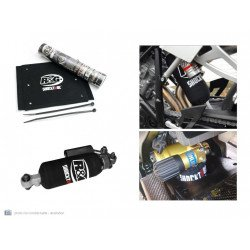 Protection d'amortisseur R&G RACING noir 25,4x27,9