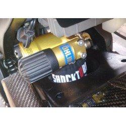 Protection d'amortisseur R&G RACING noir 24,1x29,2 KTM 1290 Super Adventure S