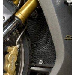 Protection de radiateur R&G RACING noir Triumph Daytona 675/675R