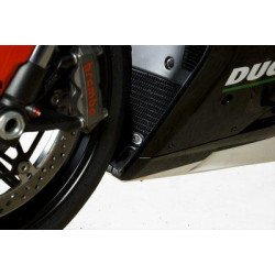 Protection de radiateur R&G RACING noir Ducati