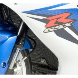 Protection de radiateur R&G RACING noir Suzuki GSX-R600/750