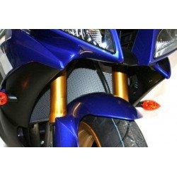 Protection de radiateur R&G RACING noir Yamaha YZF-R1/R6