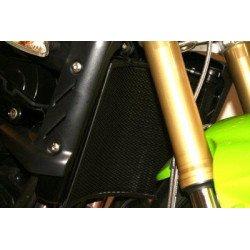 Protection de radiateur R&G RACING noir Triumph Street Triple/R 675