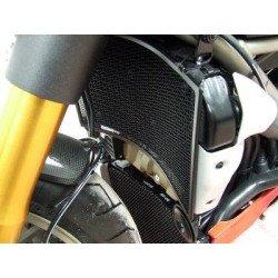 Protection de radiateur (eau & huile) R&G RACING noir Ducati Streetfighter/S