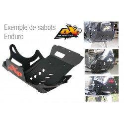 Sabot enduro AXP PHD noir KTM EXC-F350