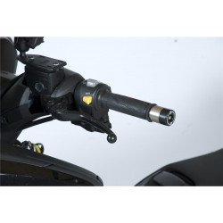 Embouts de guidon R&G RACING noir Yamaha
