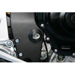 Insert de cadre droit R&G RACING noir Suzuki GSX-R600/750