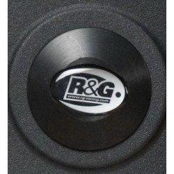 Insert de cadre droit R&G RACING noir Yamaha FZ8