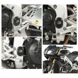 Insert de cadre gauche/droit R&G RACING noir Aprilia