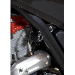 Insert de cadre (haut) R&G RACING noir Husqvarna TR650 Strada