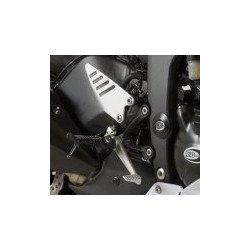 Insert de cadre droit R&G RACING noir Kawasaki ZX6R
