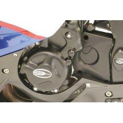 Couvre-carter gauche (alternateur) R&G RACING noir BMW S1000R/RR