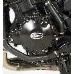 Couvre-carter gauche R&G RACING noir Triumph Speed Triple 1050