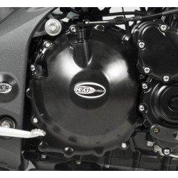 Couvre-carter droit R&G RACING noir Triumph Speed Triple 1050/1050R