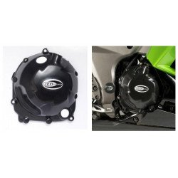 Couvre-carter droit R&G RACING noir Kawasaki Z1000/SX