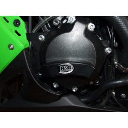 Slider moteur gauche R&G RACING noir Kawasaki ZX-10R