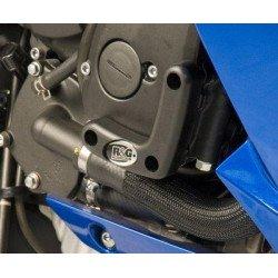 Slider moteur droit R&G RACING noir Yamaha XJ6 N/S Diversion