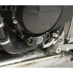 Slider moteur gauche R&G RACING noir Honda CB/CBR600F