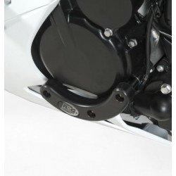 Slider moteur gauche R&G RACING noir Suzuki GSX-R600
