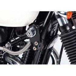 Kit fixation instruments démarrage LSL noir Triumph Bonneville/Thruxton