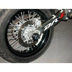 Protection de bras oscillant R&G RACING noir Suzuki DR-Z400SM