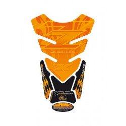 Protection de réservoir MOTOGRAFIX 4pcs orange Kawasaki