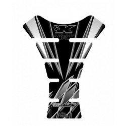 Protection de réservoir MOTOGRAFIX 1pc noir Kawasaki