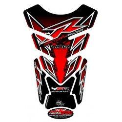 Protection de réservoir MOTOGRAFIX 4pcs rouge Yamaha