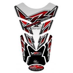 Protection de réservoir MOTOGRAFIX 4pcs blanc/rouge/noir Yamaha