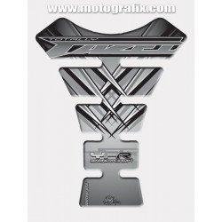 Protection de réservoir MOTOGRAFIX 1pc gris Yamaha